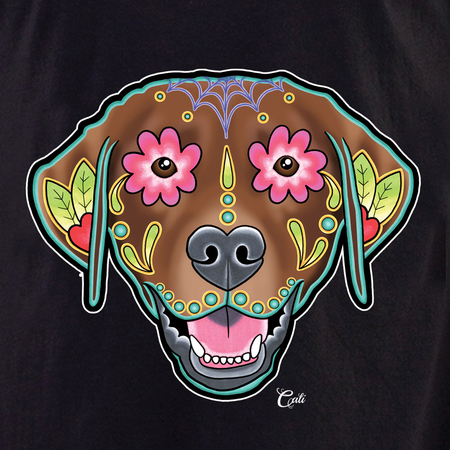 Cali Labrador Chocolate Shirt | T-Shirts