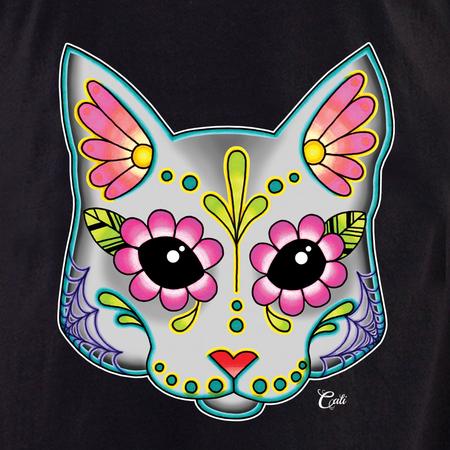 Cali Cat Grey Shirt | T-Shirts and Hoodies