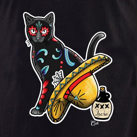 Cali Gato con Sombrero Shirt | T-Shirts and Hoodies