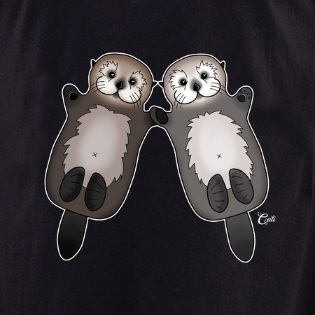 Cali Otter Couple Shirt | T-Shirts and Hoodies