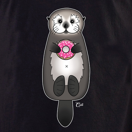 Cali Otter Donut Shirt | T-Shirts and Hoodies