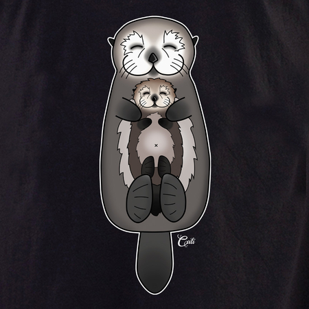 Cali Otter Mom and Baby Shirt | T-Shirts and Hoodies