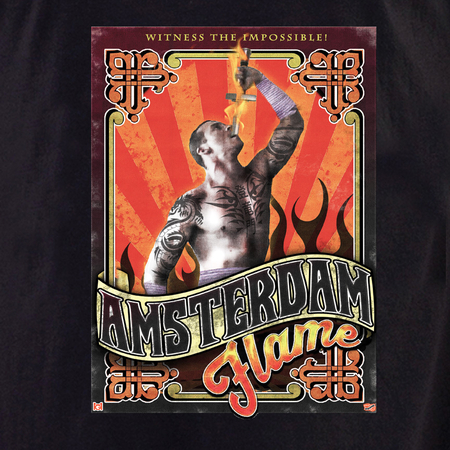 High Art Studios Amsterdam Flame T-shirt | T-Shirts