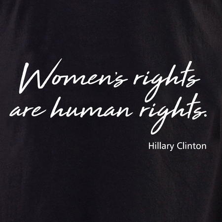 Women's Rights T shirt | Pink #RESIST