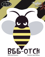 Bee-otch Sticker from Transformers