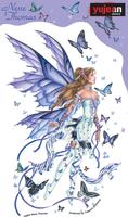 Lavender Serenade Fairy Sticker