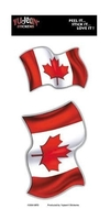 CLOSEOUT-canadian flag sticker