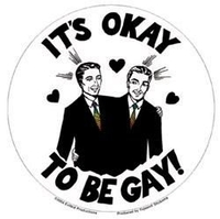 OK To Be Gay Pride Sticker