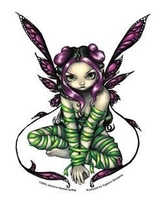 Captive Fairy Sticker