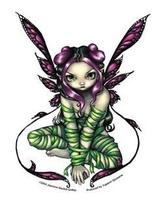 Captive Fairy Sticker