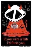 Agorables -I'd flush you sticker