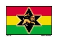 Biffle Rasta Flag Sticker