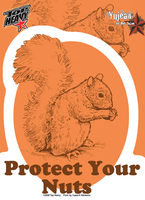 Protect Your Nuts Sticker