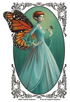 CLOSEOUT: Monarch Butterfly Fairy Sticker