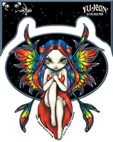 Jasmine's Rainbow Fairy Sticker