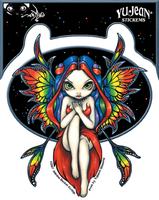 Jasmine's Rainbow Fairy Sticker