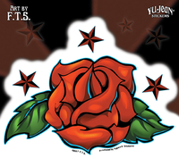 Tattoo Rose Sticker