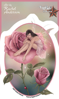 Rose Fairy Sticker