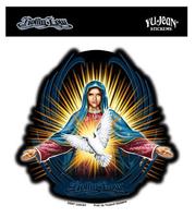 Virgin And Dove Sticker
