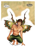 Acorn Male Fairy Sticker