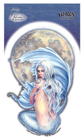 Moon Mermaid Sticker