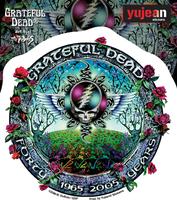 Grateful Dead 40 Years Sticker