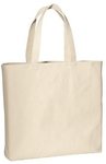 Cotton Tote Bag Natural Canvas