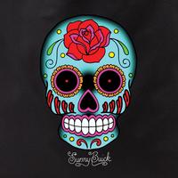 Sunny Buick Rose Sugar Skull Tote Bag