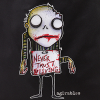 Agorables Never Trust Zombie Tote Bag