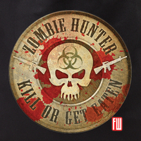 Zombie Hunter Tote Bag