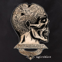Agorables Zombie Phrenology Tote Bag