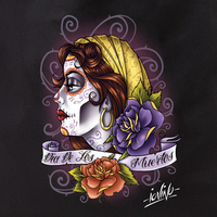 Eric Iovino Tattoo Lady Sugar Skull Tote Bag