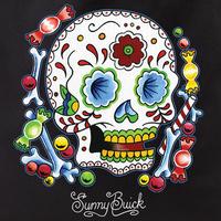 Sunny Buick Candy Sugar Skull Tote Bag
