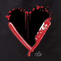 Evilkid Heart Blade Tote Bag