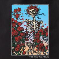 Grateful Dead Skeleton and Roses Tote Bag
