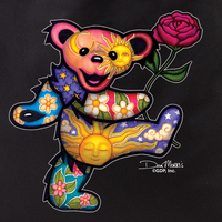 Dan Morris Rose Bear Tote Bag