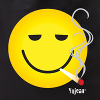 Smokin' Smiley Tote Bag