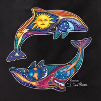 Dan Morris Dolphins Tote Bag