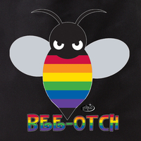 Pride Bee-otch Tote