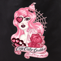 Cherry Martini Cupcake Goddess tote