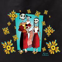MLuera Dia de los Muertos Tote Bag