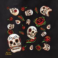 MLuera Sugar Skulls Tote Bag