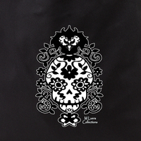 MLuera Filigree Skull Tote Bag