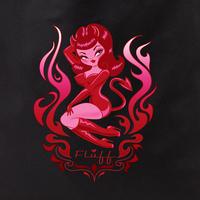 Fluff Devil Girl tote