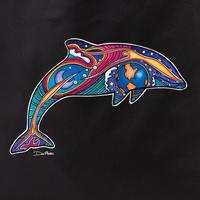 Dan Morris dolphin 1 tote