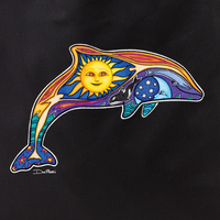Dan Morris dolphin 2 tote