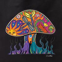 Dan Morris mushroom tote