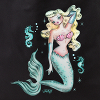 Fluff mermaid 2 tote