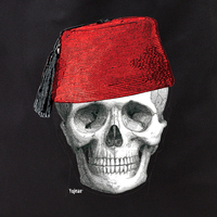 Fez Skull Face Tote
