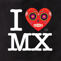 Evilkid I Heart Mex Tote